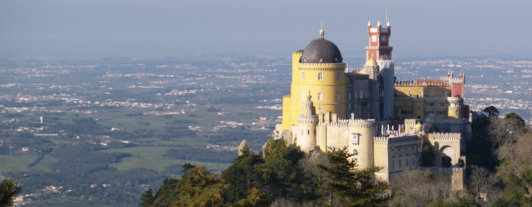 One of the highlights of Sintra, the lovely Pena Palace.